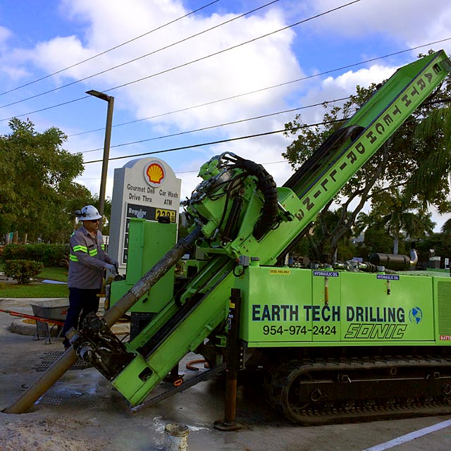 Sonic Angle Drilling in Florida