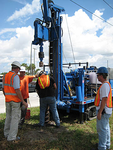 Environmental Drilling Contractor Earth Tech Drilling